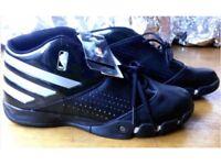 NBA Adidas Mad Speed ll black Basketball trainers - size 12.5 UK