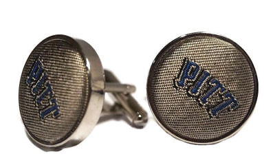 Pitt Panthers Sports - Pitt Panthers Men's Cuff Links Pittsburgh New In Box NCAA College Sports Team