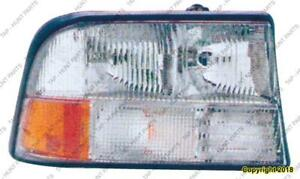Head Light Passenger Side Without Integral Fog Light High Quality GMC Sonoma 1998-2004