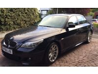 2006 BMW 530i M Sport, only 2 owners, well-maintained, 9 mths MOT, towbar, FSH, Professional iDrive