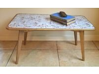 vintage coffee table - upcyled