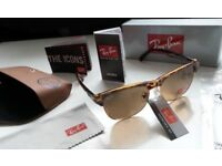 RAYBANS LADIES TURTLE SHELL CLUBMASTER SUNGLASSES COLLECTION + PAYPAL WELCOME tv