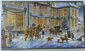 New 2001 Limited Edition 'Christmas Ball' Jigsaw Puzzle: 1000 pieces