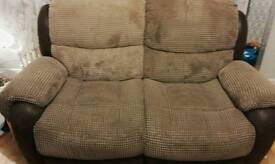 2 and 3 seater dfs sofa great condition