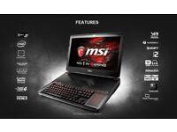 "MSI 18.4"" GT83 VR Full HD GTX 1080 SLi Gaming Laptop with Mechanical Keyboard"