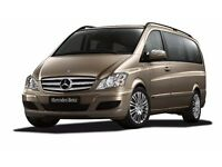 8 seater Mercedes Viano taxi for any trip