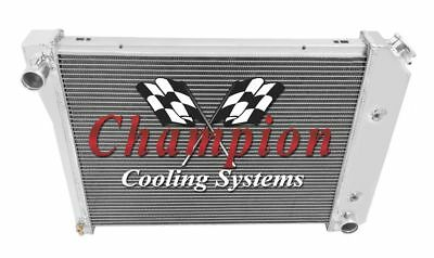 4 Row All Aluminum Performance Radiator For 1964   88 ChevyBuick Cars