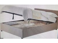 Double Ottoman Bed with Memory Foam Mattress