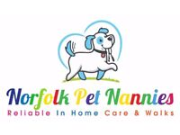 NR4 NR2 Dog Walker and Pet Sitter. Qualified lecturer in Animal Care. Eaton Rise, Tuckswood