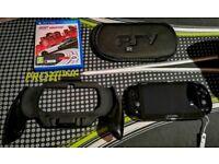 PS Vita Slim + 16gb Memory Card Accessories and NFSMW
