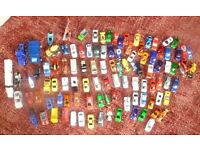 Lot of Diecast Toy Cars. Plastic Vehicles. Approx 105 Items
