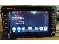 "7"" VW/Seat/Skoda Android Touchscreen Car Stereo/Radio/GPS/Sat Nav/Bluetooth/DVD/SD Card + CANBus Box"