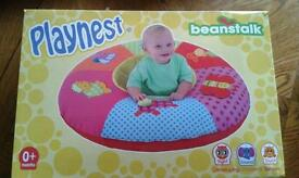 Beanstalk inflatable playnest ring donut baby support
