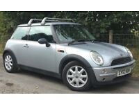 MINI ONE 1.6 Hatchback Metallic Silver Twin Sunroofs Just Fitted With Brand New Clutch Cheap Car!
