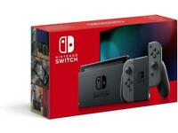 Nintendo switch all grey console