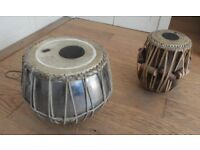 Indian Tabla Drums / Bayan and Dayan / Hand percussion instruments