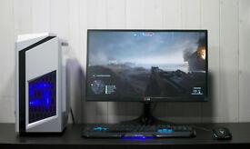 Super Fast Performance Gaming Desktop Computer PC Nvidia GTX 1050ti 8GB Ram 1TB HDD WiFi Windows 10