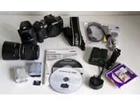 Olympus E510 10Mp DSLR camera outfit
