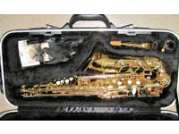 Earlham Alto Saxophone Professional Series II -£40 Price Reduction