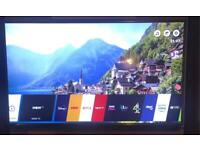 """LG 55"""" smart tv with stand and magic remote bargain £325"""