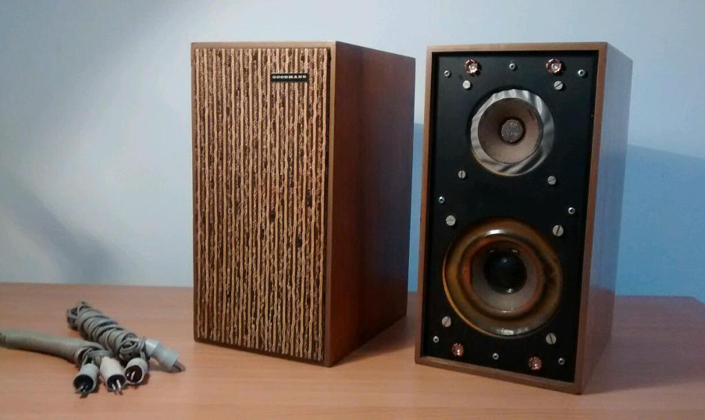 Vintage Goodmans Maxim M Series Speakers In High Wycombe