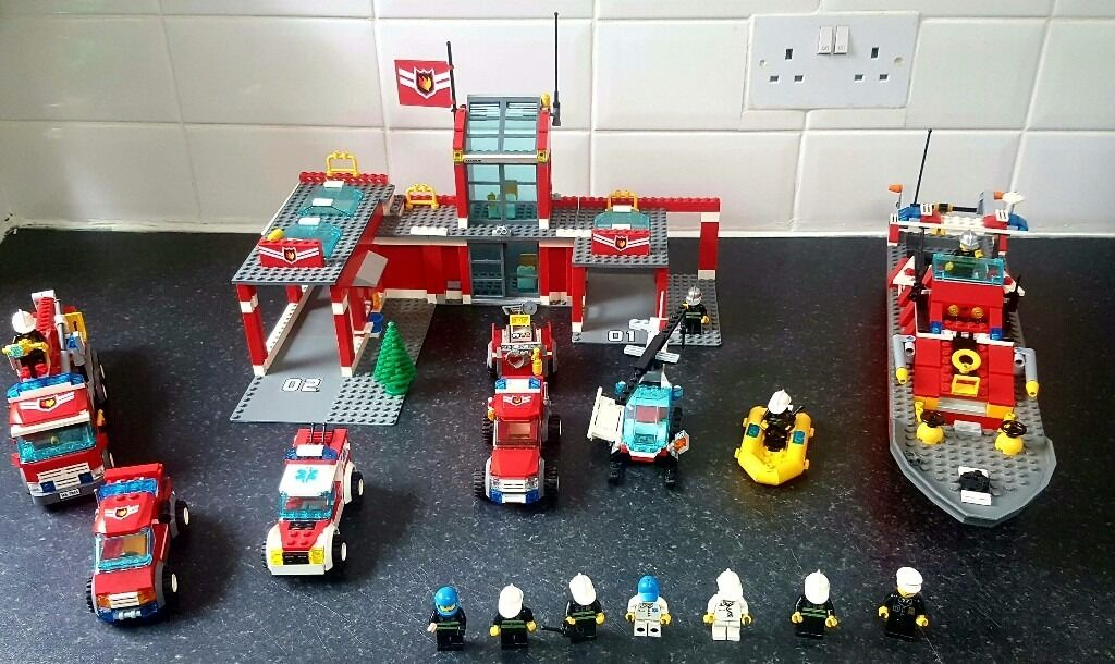 Lego City Fire Station Extras In Exeter Devon Gumtree