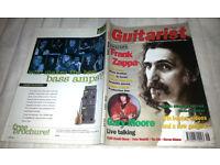 Vintage Guitarist magazine Featuring Frank Zappa June 1993