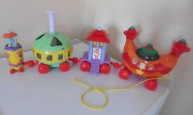 In the Night Garden Ninky Nonk pull along musical train £15 collection from Shepshed.
