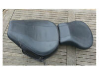 Harley Davidson Softail Seat & Pillion Pad MINT condition