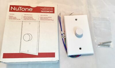 NuTone NA300MCWH * Intercom Volume Control for NM Series * NEW