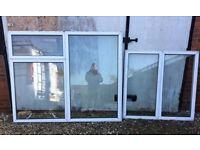 2 Windows double glazed greenhouse alloment shed garage