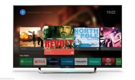 """Sony 43"""" 4k HDR Android TV - 3 year warranty."""