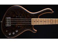Mensinger Cazpar 4 Wenge Short Scale Bass Guitar