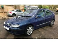 Renault Megane expression+ for sale, MOT, 3 former owners, drives very well.