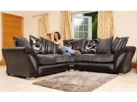 TODAY ONLY SHANNON CORNER SOFA AS IN PIC FAST DELIVERY BRAND NEW