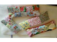 Patchwork heat wrap/Bag