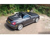 Chrysler Crossfire Convertible - Rare Gun Metal Grey - 107K - New 12 Month MOT