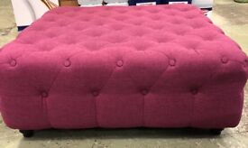 Large Square Foot Stool