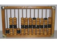 Vintage Wooden Abacus from c.1950-1960