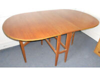 Teak Dining Table - Drop Leaf and Gate Leg