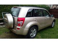 Suzuki Grand Vitara 2007 2.0 16v Petrol 4x4 127k mileage HPI CLEAR MOTed and TAXed till 10 dec