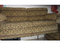 SOFA 3 SEATER AND 2 SEATER FROM HOPEWELLS NICE QUALITY SPRUNG BASE still for sale