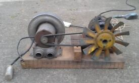 Air Turbine used for Mulitple Fish Tanks
