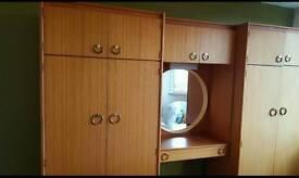 Schreiber Large Wooden wardrobe and dresser