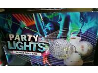 Party disco light.