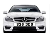 Personalised plates for sale W7 DFS S25 DDD