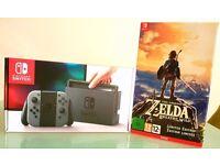 Nintendo Switch + Zelda Limited Edition