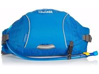 Camelbak FlashFlo LR Hydration Pack (50-Ounce/ 200 Cubic-Inch, Skydiver Blue/Egret White)