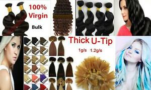 Lace  Wig and  Hair Extensions Bulk TapeIn utip Fusion Wefts