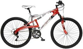 Arizona Mens Dual Suspension Bik Red/Black